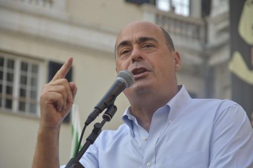Zingaretti annuncia le dimissioni, e il segretario del Pd genovese Pandolfo si schiera per il reincarico