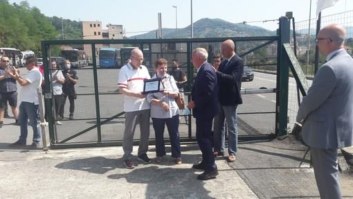 Intitolato a Daniele Ressi il nuovo deposito di Atp in Valpolcevera [FOTO]