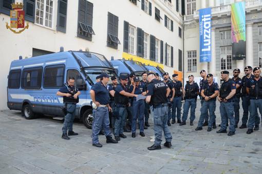 Centro storico: unità cinofile e agenti in azione insieme alla municipale