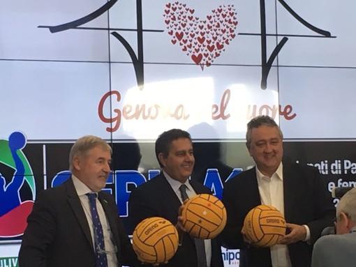 Pallanuoto solidale: il match della Sciorba con #Genovanelcuore