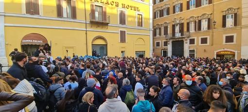 La manifestazione odierna a Roma
