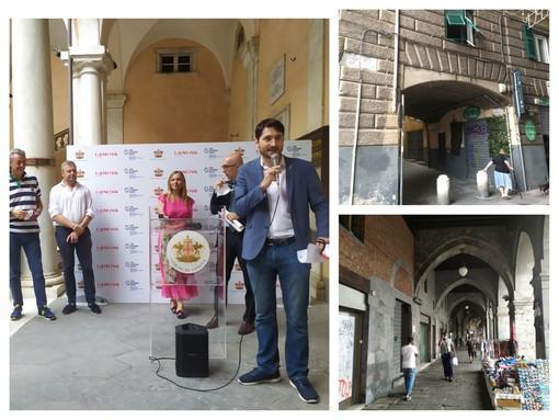 Genova, al via la fase 2 del progetto pubblico-privato di riqualificazione del centro storico 'Insieme per Sottoripa' (FOTO e VIDEO)