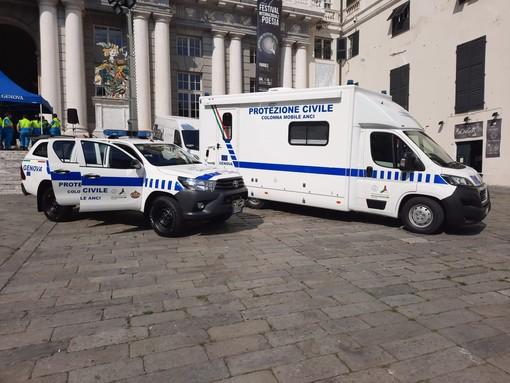 """La protezione civile del Comune di Genova si dota di una """"colonna mobile"""" (FOTO)"""