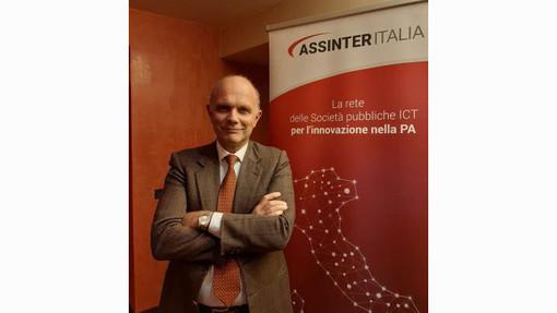 Il presidente di Liguria Digitale Paolo Piccini è il primo ligure presidente di Assinter Italia: l'ente diventa capofila nazionale dell'Ict
