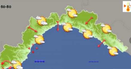 Meteo: prosegue il bel tempo sul genovese con un'altra giornata soleggiata