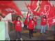 Gli addetti alla pulizia di Leroy Merlin protestano contro i tagli arrivati con il cambio di appalto (VIDEO)
