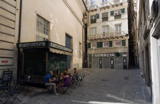 In piazza Senarega a Genova una targa per ricordare ed omaggiare Carlo Alberto Navone