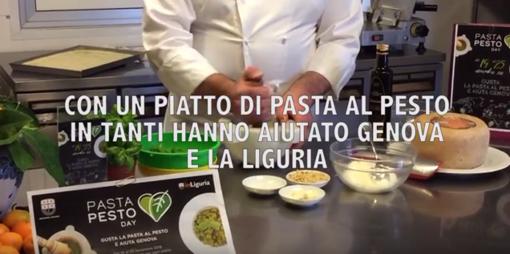 Pasta al Pesto day: e la solidarietà è subito un successo