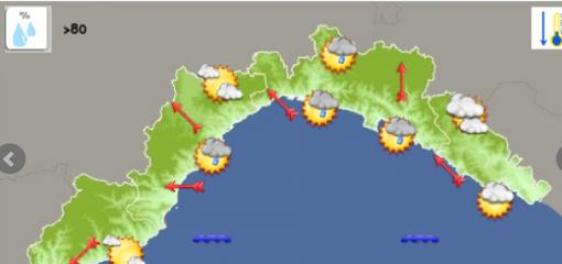 Meteo: giornata con possibili rovesci sul genovese