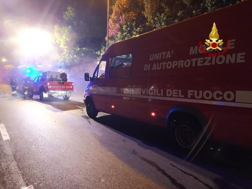 Cornigliano: divampa incendio, una famiglia intossicata