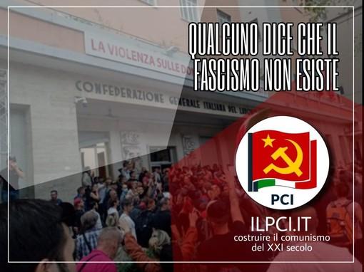 """Attacco alla Cgil, il Pci: """"E' solo la punta dell'iceberg alimentata dagli atteggiamenti ambigui di Salvini e Meloni"""