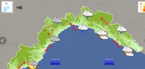Meteo: continuano i rovesci sul genovese, miglioramenti a Levante