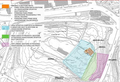Approvato il finanziamento per il Progetto Green Blue Housing: in arrivo 620.000 euro per la ristrutturazione del minigolf e di un immobile all'interno di Parco Casale