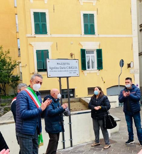 Centro Storico: intitolata targa ad Agostino Dario Caviglia