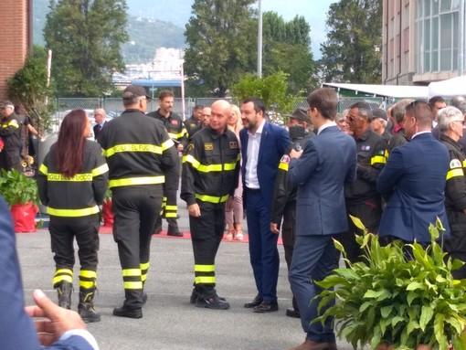"""Salvini: """"Restituiremo a Genova quello che qualcuno ha tolto, a partire dalle palanche"""""""