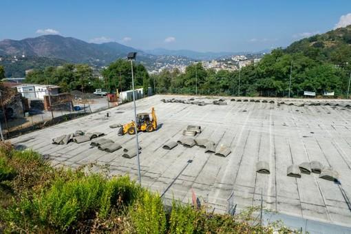 Al via i lavori di riqualificazione dell'impianto sportivo 'Mauro Morgavi' di Sampierdarena (FOTO)