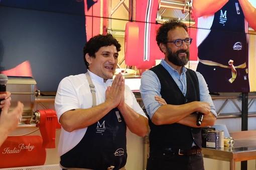 Lo chef Colagreco dà spettacolo a RistorExpo