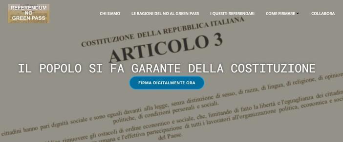 Referendum contro il green pass, tra i garanti anche il savonese Carlo Freccero