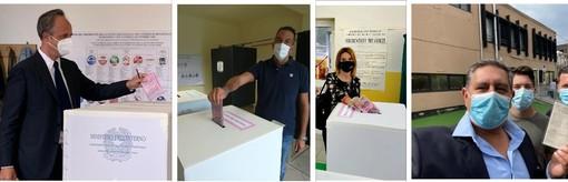 Prime immagini dei candidati alla Regione al voto