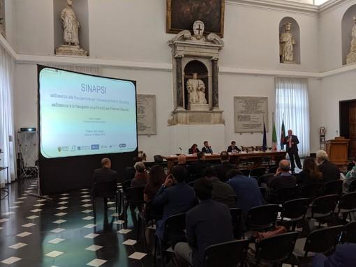 """Presentato a Palazzo San Giorgio """"SINAPSI"""", il progetto hi-tech per evitare urti e collisioni in porto"""