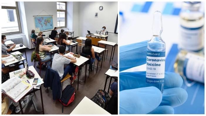 Covid19 e scuola: in Liguria il 65% del personale ha completato il ciclo vaccinale