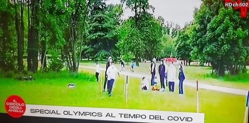 Andrea Ferraro e gli Special Olympics al tempo del Covid