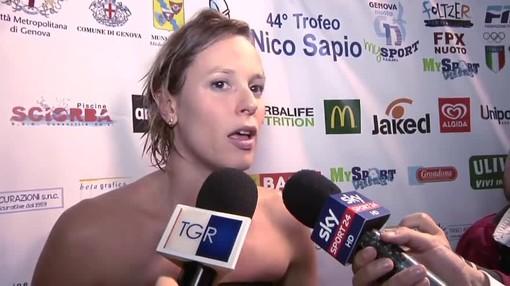 Federica Pellegrini illuminerà anche il 45° Trofeo Nico Sapio