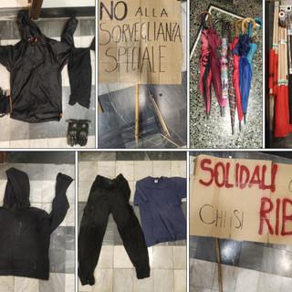 Manifestazione degli anarchici, la polizia sequestra mazze, martelle e cacciaviti. Identificati i responsabili