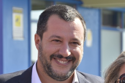 Salvini a Genova visita stabili confiscati alla mafia nel centro storico