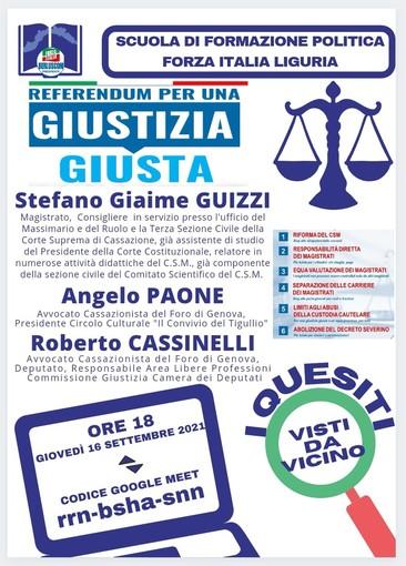 Nuove iniziative di Forza Italia a sostegno dei referendum sulla giustizia