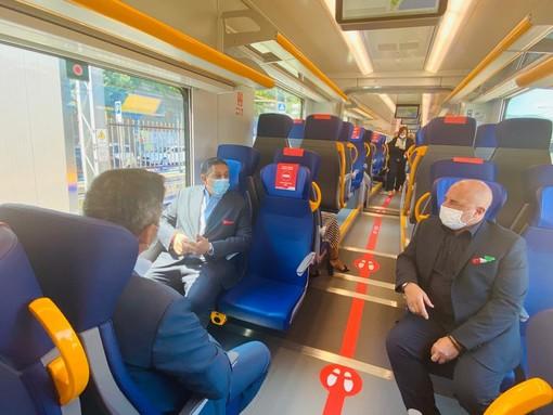 Trenitalia: consegnato il decimo treno dei 48 previsti per rinnovare la flotta ligure