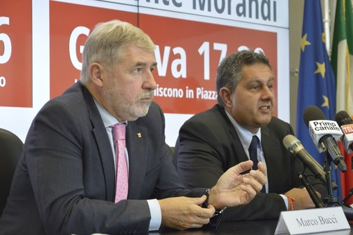 "Aumento capitale Carige, Toti e Bucci: ""Asset fondamentale per la Regione"""