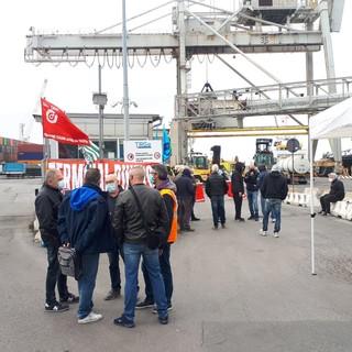 Terminal Rinfuse Porto di Genova, scattato lo sciopero dei dipendenti