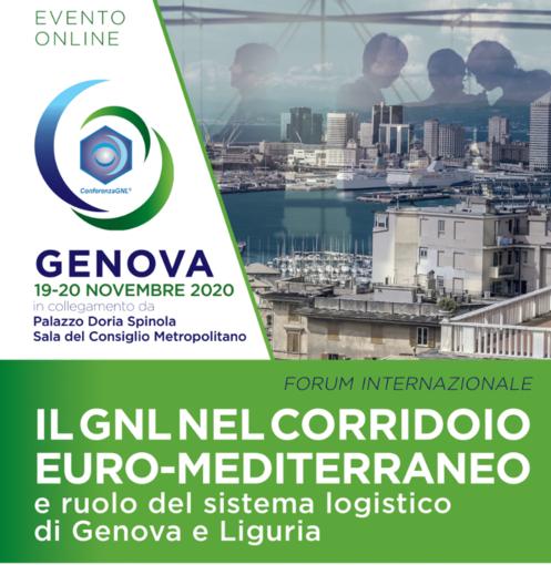 Il Gnl protagonista a Genova e in Liguria per nuove interconnessioni e collaborazione nel Mediterraneo