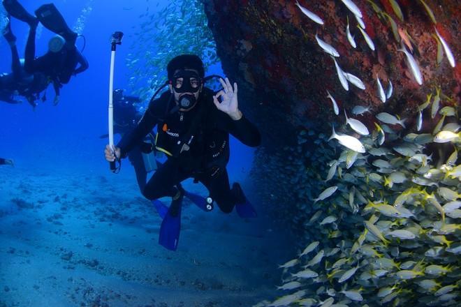 """La passione per il mare, la subacquea e il """"Mare Nostrum"""""""