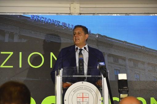 """Regionali 2020, Toti festeggia la conferma: """"E' la vittoria del buon governo"""""""