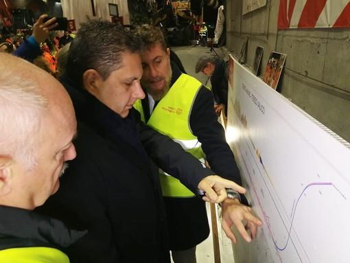 """Terzo valico, Toti: """"L'impasse si deve sbloccare"""", lavoratori in stato di agitazione"""