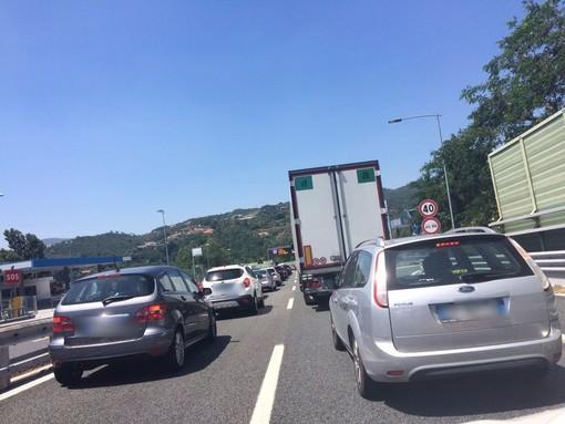 A12 Genova-Sestri Levante: chiusa per una notte l'entrata della stazione di Genova Nervi