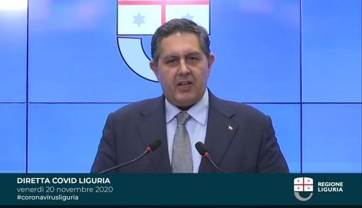 """Emergenza Covid, la Liguria resta in zona arancione. Toti: """"Se facciamo qualche sacrificio in più oggi ne trarremo dei benefici domani"""""""