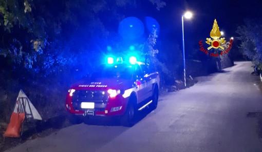 I vigili del fuoco di Rapallo ritrovano ragazza dispersa sul promontorio di Portofino