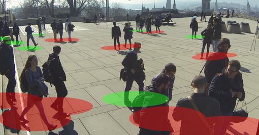 Intelligenza artificiale e covid: la sfida della misurazione automatica della distanza sociale [FOTO]