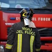 I vigili del fuoco intervengono per un crollo nella galleria del Terzo valico, grave un operaio