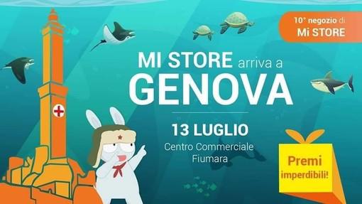 A Genova un nuovo Mi Store: aprirà i battenti il prossimo 13 luglio